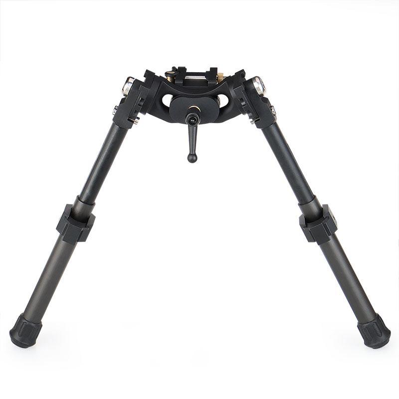 Canis Latrans LRA Light Hunting Bipod Long Riflescope Bipod For Hunting Rifle Scope Black Color CL17-0031