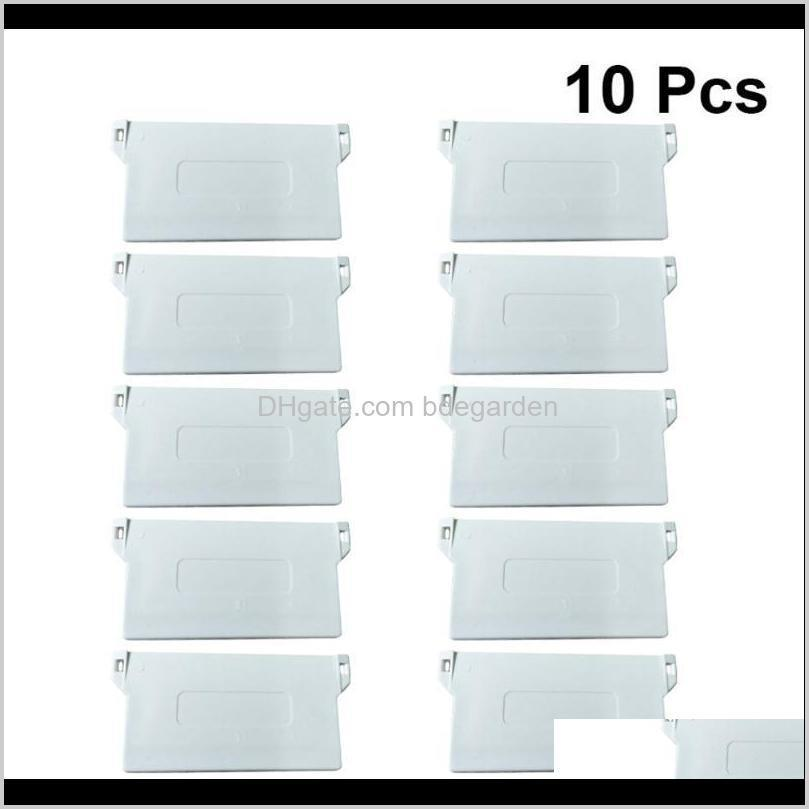Blinds Décor Home & Garden Drop Delivery 2021 10Pcs 89Mm Plastic Plate For Portable Bottom Weights Slats Vertical Blind Fittings Roller Aesso