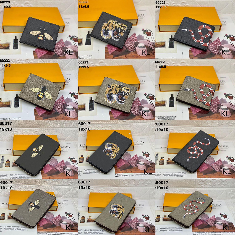 지갑 여성 지갑 지퍼 가방 여성 지갑 지갑 패션 카드 홀더 포켓 긴 여성 토트 백 상자 Dustbags22