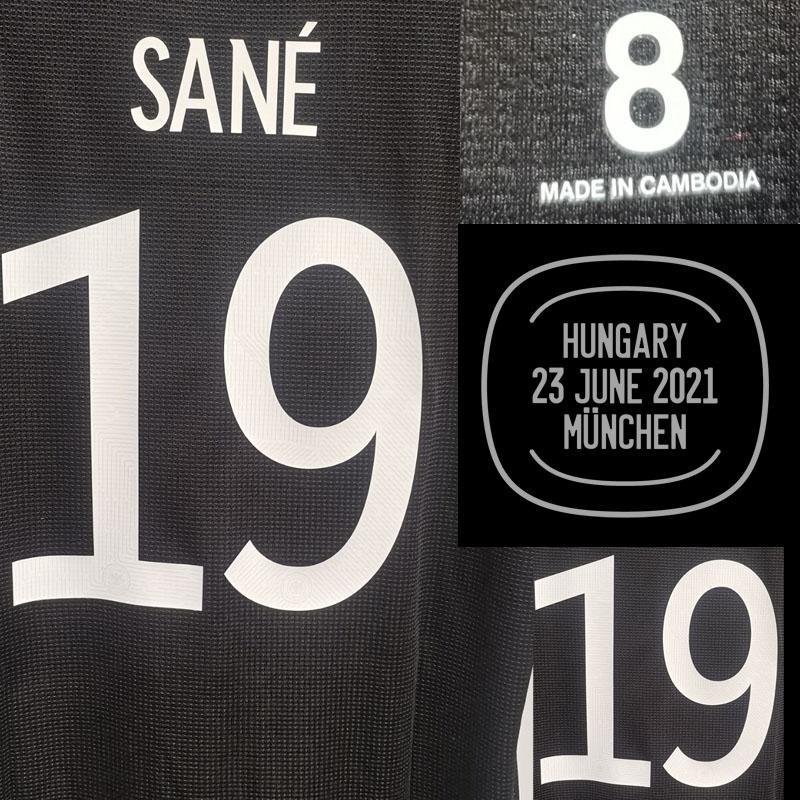 Collectable Jogador Gnabry Kroos Werner Sane Kimmich Muller com MatchDetails Crachá de futebol