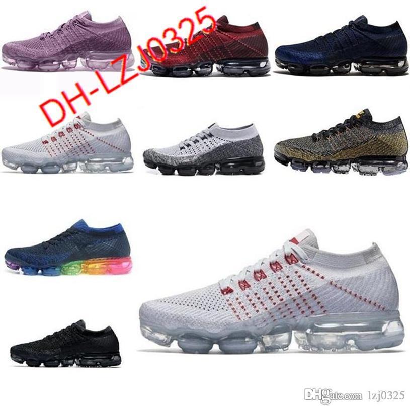2018s zapatos botas hombres mujeres negro metálico oro blanco núcleo crema gris oreo deportes deportes 2017S zapatillas de deporte Tamaño 5.5-11 DH-X38