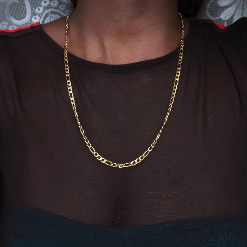 Chains 5mm Hip Hop Curb Cuban Link Chain Choker Necklace For Women Men Punk Stainless Steel Jewelry