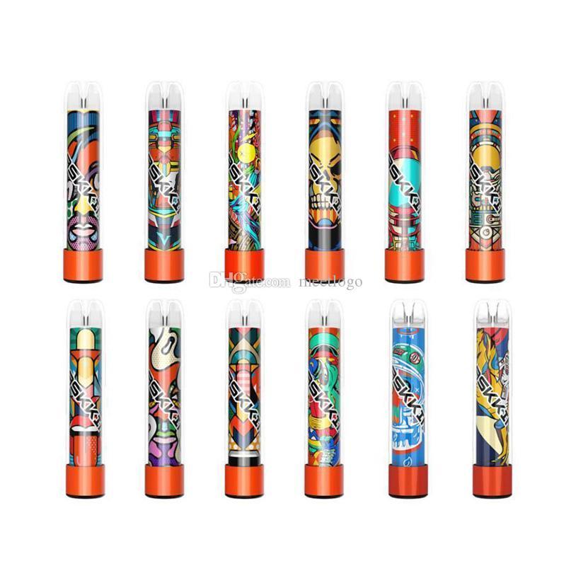 Maskking High Pro Max Max Einweg-Vape-elektronische Zigaretten 1500 Puffs 4.5ml-Patrone bereit, transparente Mundstückvapes pk Bang XXL zu verwenden