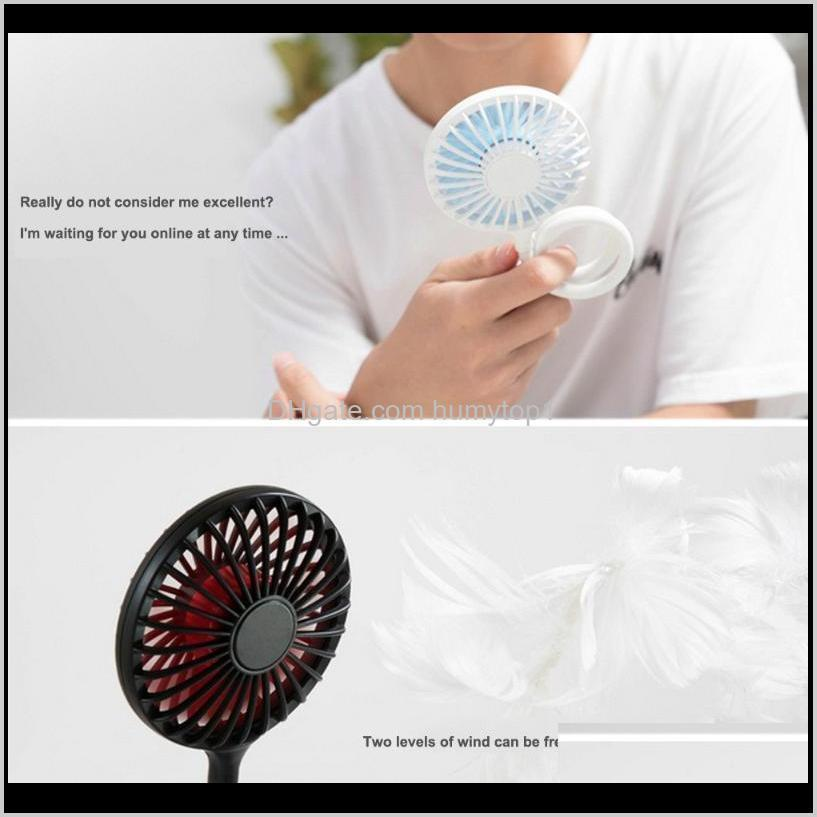 Lanterns Usb Charge Twospeed Fans Headphone Hanging Neck Portable Small Student Outdoors Bring Silent Fan Mini Air Cooler Yrkkz P9Cwt