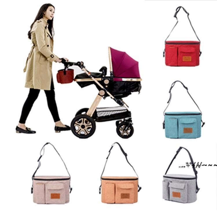 Diaper Stroller Organizer Nappy Bag for Nusring Mommy Mama Maternity Bags Baby Yoya Cart Accessory sea shipping EWB6140