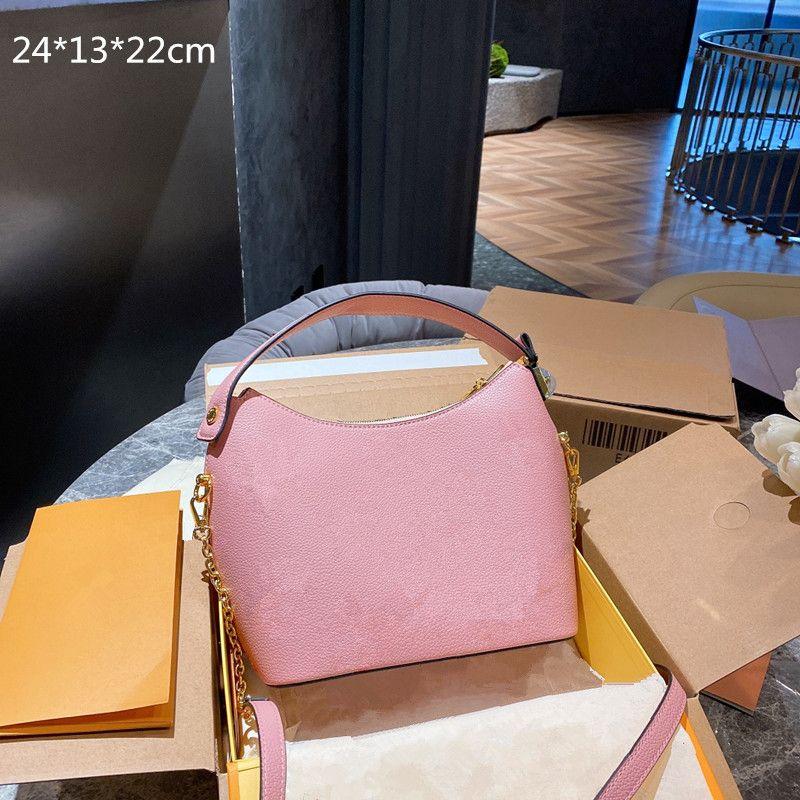النساء حقائب فاخرة الأفاق المحافظ مصممين حقائب سلسلة crossbody المطبوعة الزهور الأزياء الصليب الجسم واحد الكتف 3 ألوان L21042401