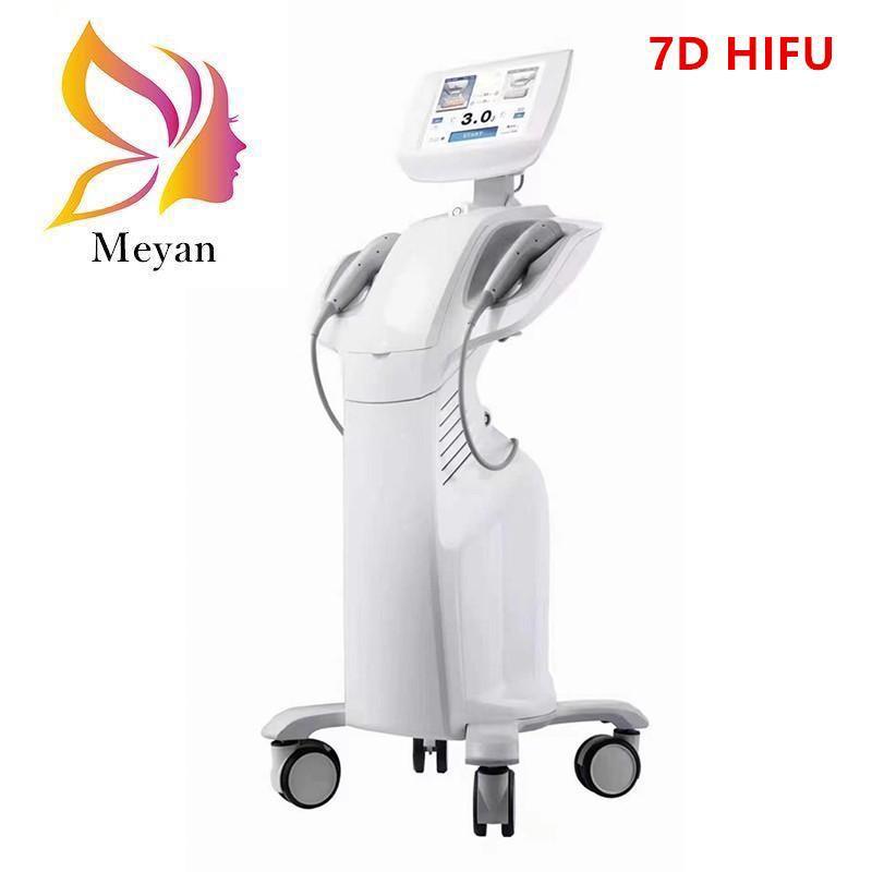 Vücut Zayıflama ve Yüz Anti Aging Anti-Kırışıklık Cilt Kaldırma için 7D HIFU Ultrason Yüz Makinesi