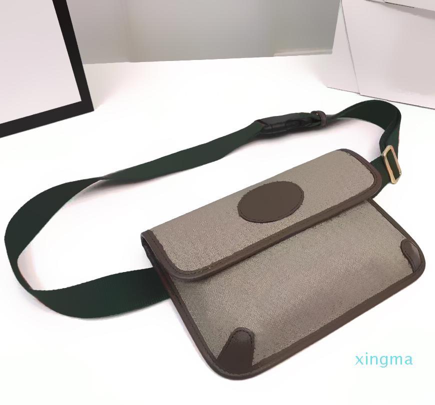 패션 디자이너 유니섹스 호랑이 허리 가방 크로스 바디 가방 벨트 지갑 Satchel 어깨 # 493930