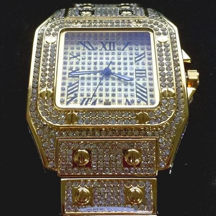 Guarnizione da donna Mens Automatic Diamond Diamond Bezel Zaffiro Orologi da donna cystal Orologi in acciaio inox PORSA IN ACCIAIO Acciaio