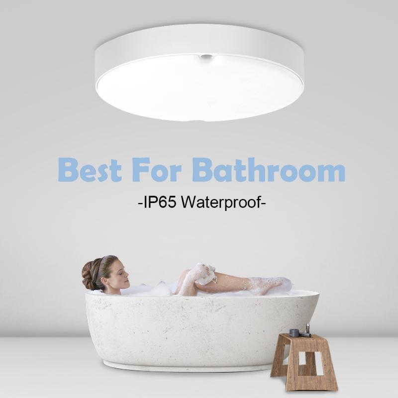 Ceiling Lights Bathroom Led Waterproof IP65 18W AC165-265V Lighting Fixtures For Bedroom Livingroom Modern Lamps