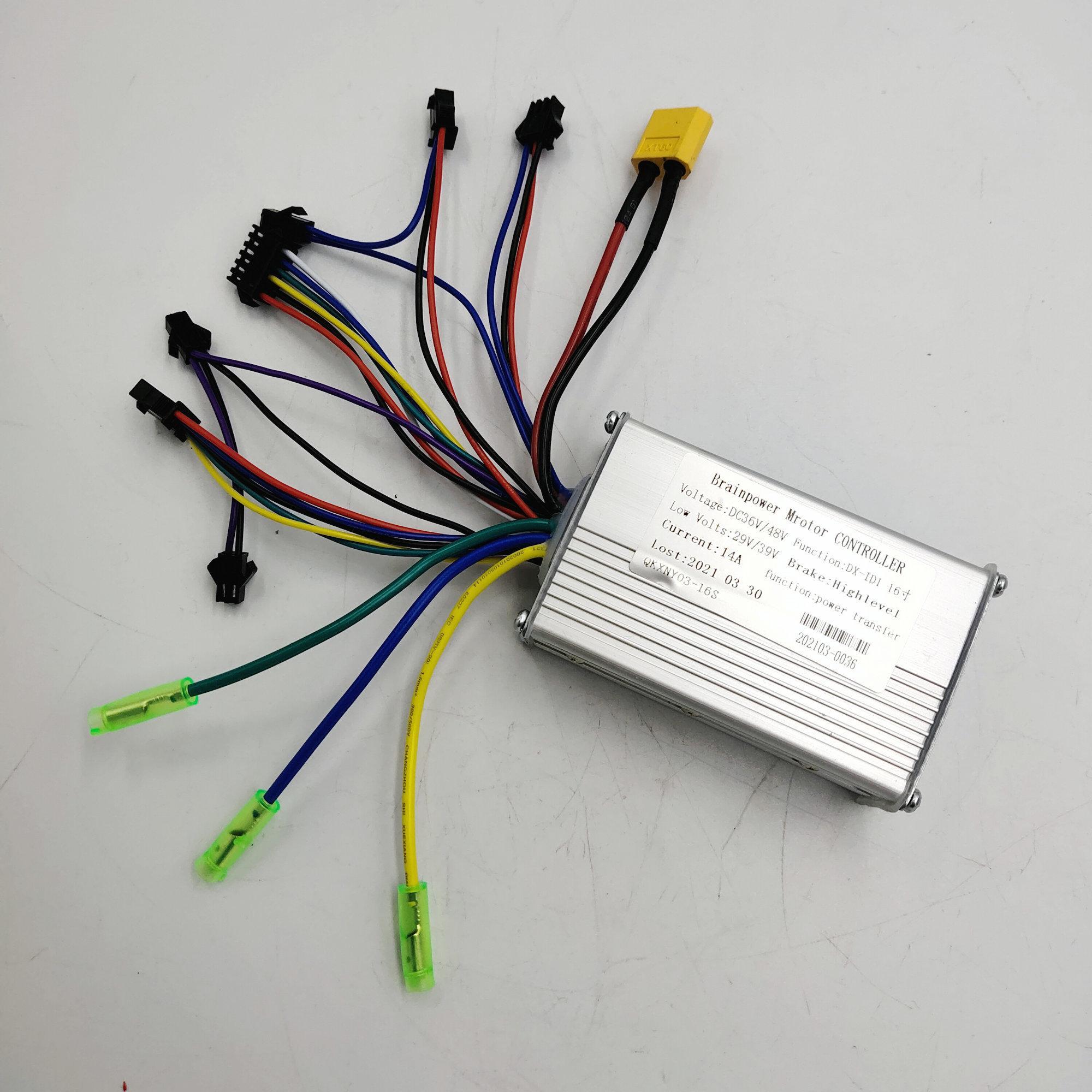 Contrôleur 36V250W13A 6MOSFET BLDC pour vélo électrique CMSF16 CMSF16 plus accessoire de vélo pliant avec batterie de Lthium