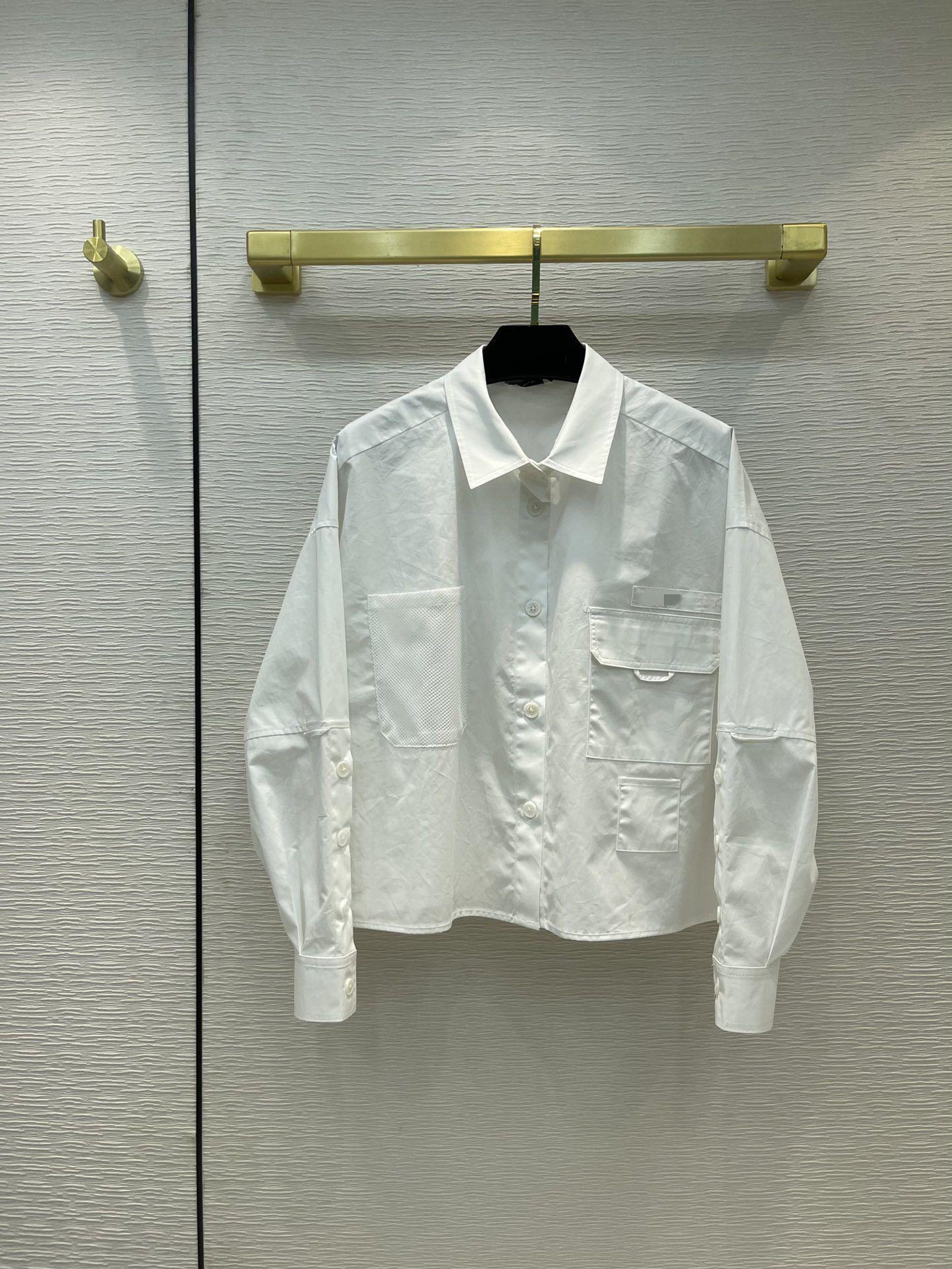 Milano pist gömlek 2021 fener kol yaka boyun baskı tasarımcı bluzlar marka aynı stil kadın 0526-26