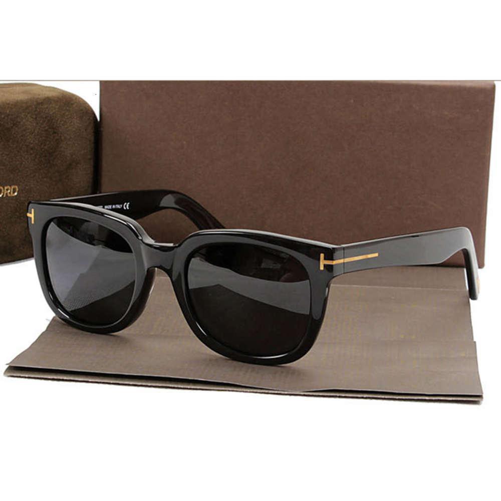Moda Marca de Luxo Pollarized Sunglass homens Tom Sunglass para mulheres andando de sunglass quadrado TF211 com caso original