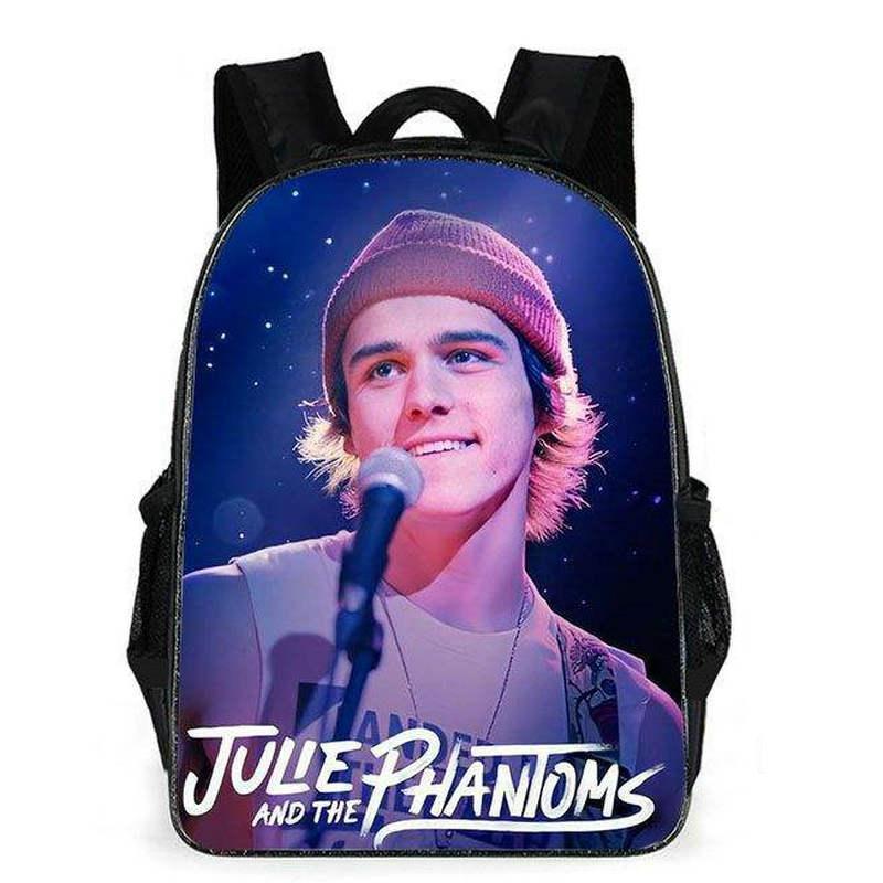 Charlie Gillespie حقيبة ظهر جولي و Phantoms Day Pack Star School Bag طباعة Packsack Quality Rucksack Sport Schoolbag في الهواء الطلق Daypack