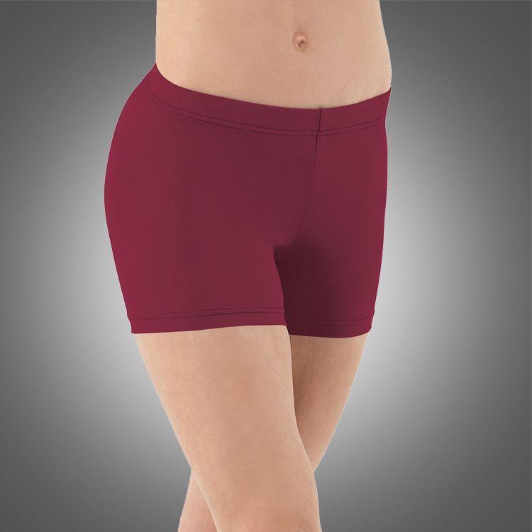 Adult straight waist short A2524 wholesale ballet dance shorts pole yoga wear