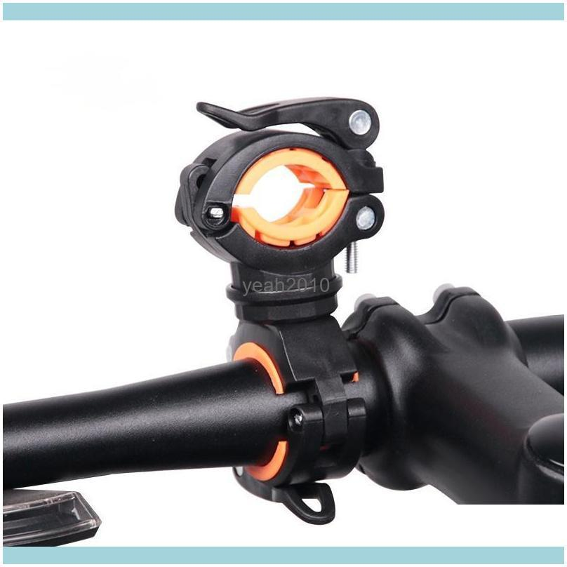 Bike Aessories Cycling Sports & Outdoorsbike Lights Bicycle Light Bracket Lamp Holder Led Torch Headlight Pump Stand Quick Release Mount 360