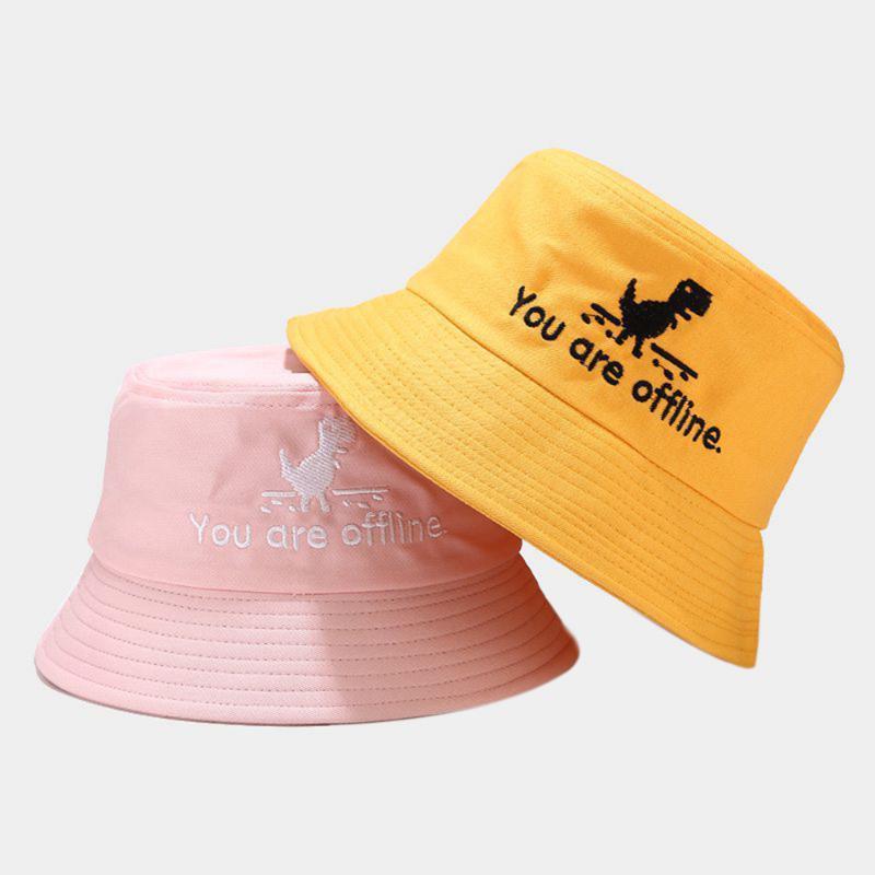 Вы вне форума Письмо Печатный рыбак Шляпа Летняя Земельница Бассейн Человек Женщины Плоские Лучшие Ведро Шляпы Наружная улица Trend Cap Широкий Brim