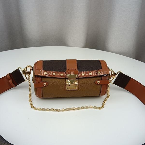 Fashion Designer Mini catena a forma di barilotto forma donna borsa a onda modello classico fiore retrò secchio borse a tracolla borsa borsa casual crossbody borsy borse
