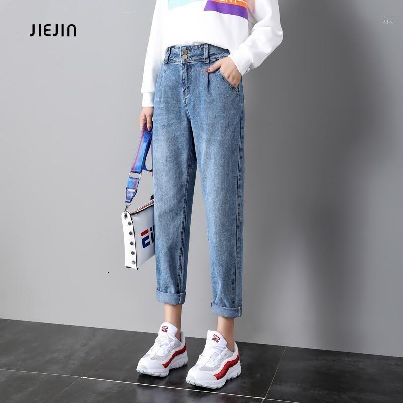 Jeans Weibliche Herbst 2020 Neue Art von Student Koreaner Edition Lose Schlempfer Geraden Zylinder Net Red Daddy Pants1