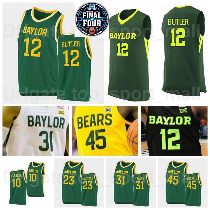 NCAA Basquete Final Quatro Baylor Bears College Jersey 24 Lacearius Dunn 4 Quincy Acy Vinnie Johnson Larry Bird David Wesley University Alta Qualidade