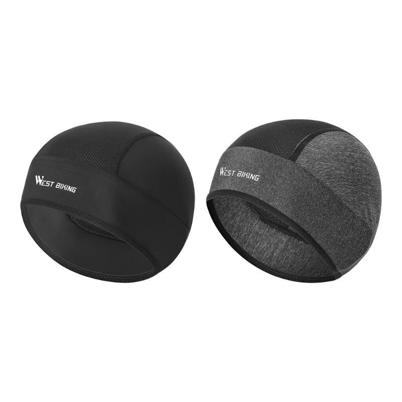 Multi-function Unisex Cycling Cap Running Skiing Fleece Windproof Bandana Summer Outdoor Sunscreen Anti-UV Helmet Hat Caps & Masks
