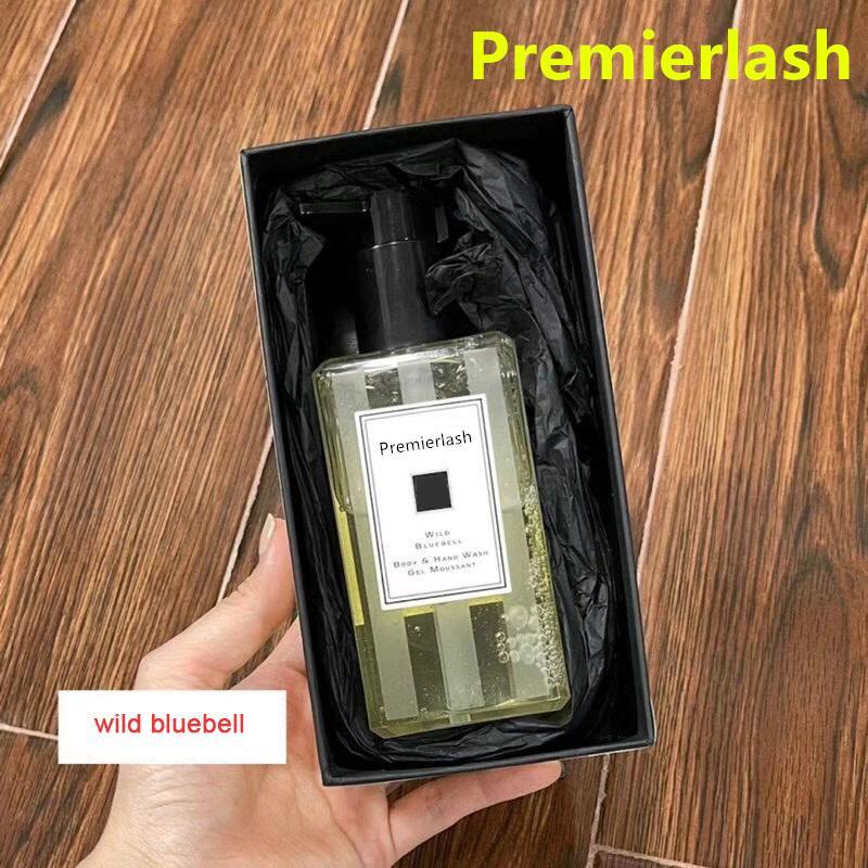 Premierlash Jo London Malone 250 ml Vücut Yıkama El Jel Musant Vahşi Bluebell Deniz Tuzu İngilizce Armut Çiçeği Marka Duş Banyo Losyon Kremi
