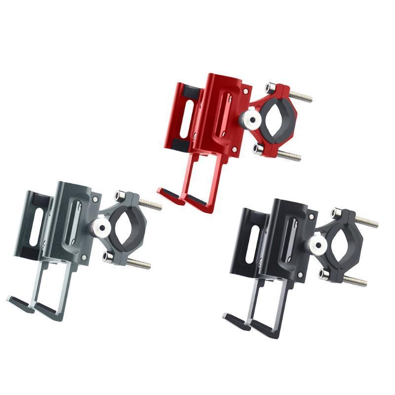 Suporte do suporte do suporte do suporte do telefone da bicicleta do scooter da bicicleta do suporte de alumínio do suporte de alumínio para 4,5-7inch Cellphone GPS Cell Mounts Suportes