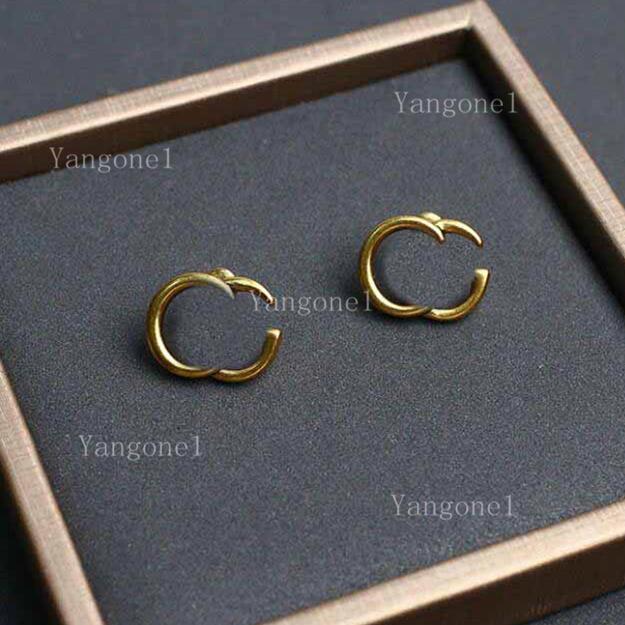 Fashion Charm Brief Ohrringe für Dame Frauen Party Hochzeit Liebhaber Geschenk Engagement Luxus Schmuck für Braut Valentinstag