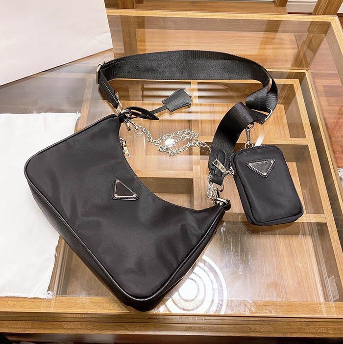 2021 숙녀 가방 디자이너 브랜드 패션 메신저 고전적인 품질의 지갑 그물 레드 대각선 복고풍