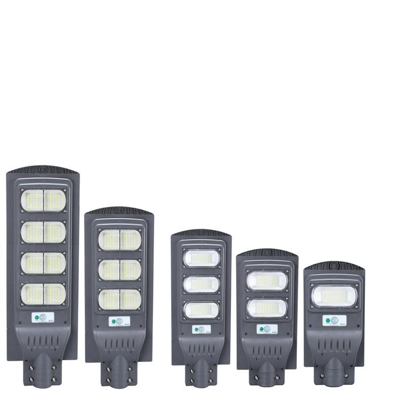 30W 60W 90W 160W LED Solar Lamps Street Lights IP65 Waterproof Solar Street Light Radar Motion Sensor Solar Outdoor Security Lamp In Stock