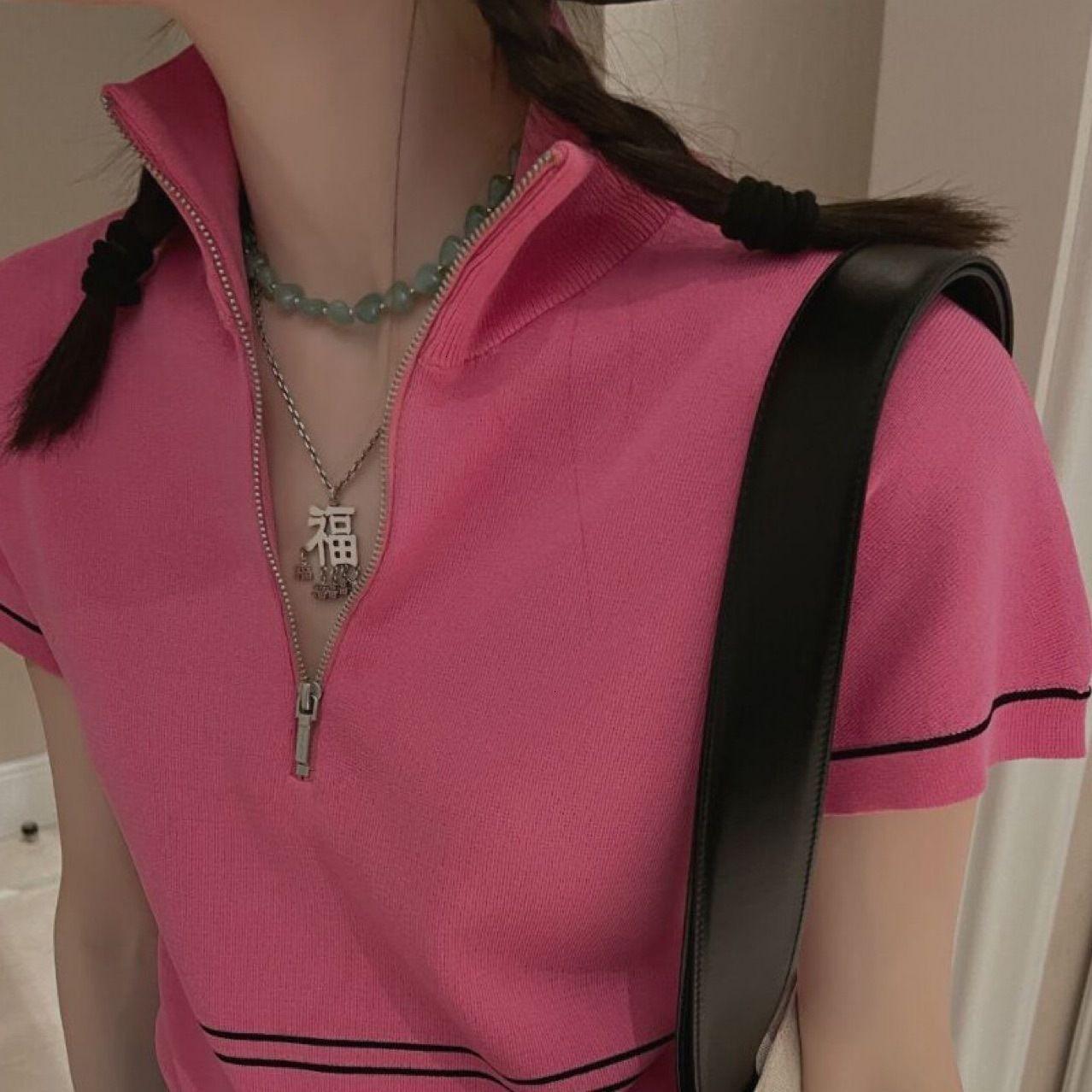 MS Ожерелье и Ожерелье Моны Натуральный Джейд Цветоносная цепная цепная платья с леди, сияющая пейзаж.