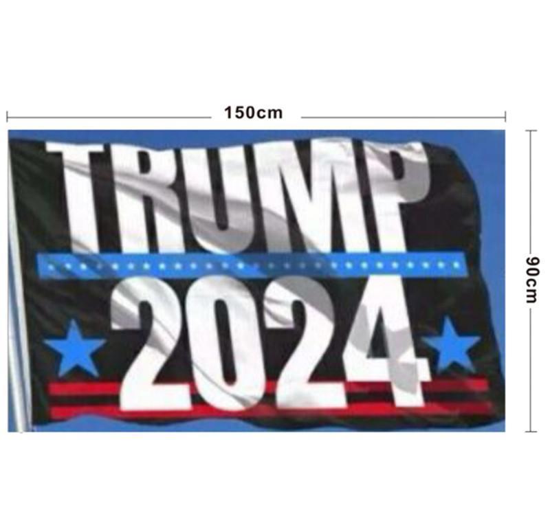 ترامب أعلام دونالد ترامب أعلام 2024 90 * 150 سنتيمتر أمريكا شنقا لافتات كبيرة 3x5ft الطباعة الرقمية دونالد ترامب العلم ب