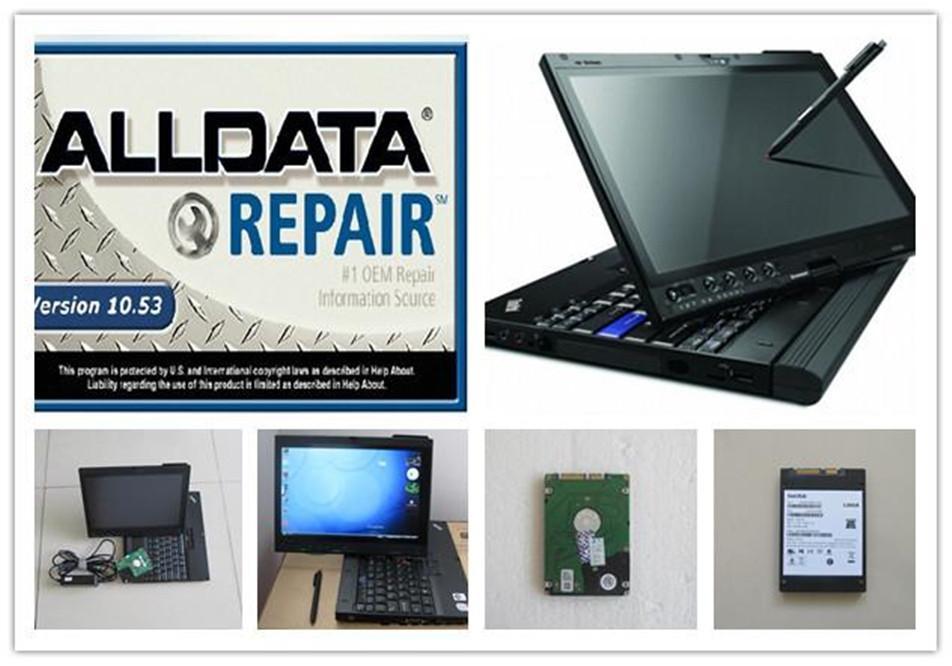 2in1 Strumento di riparazione auto da 2in1 Software gratuito al computer V10.53 Installato Bene in X200T Laptop 1TB HDD Pronto per il lavoro