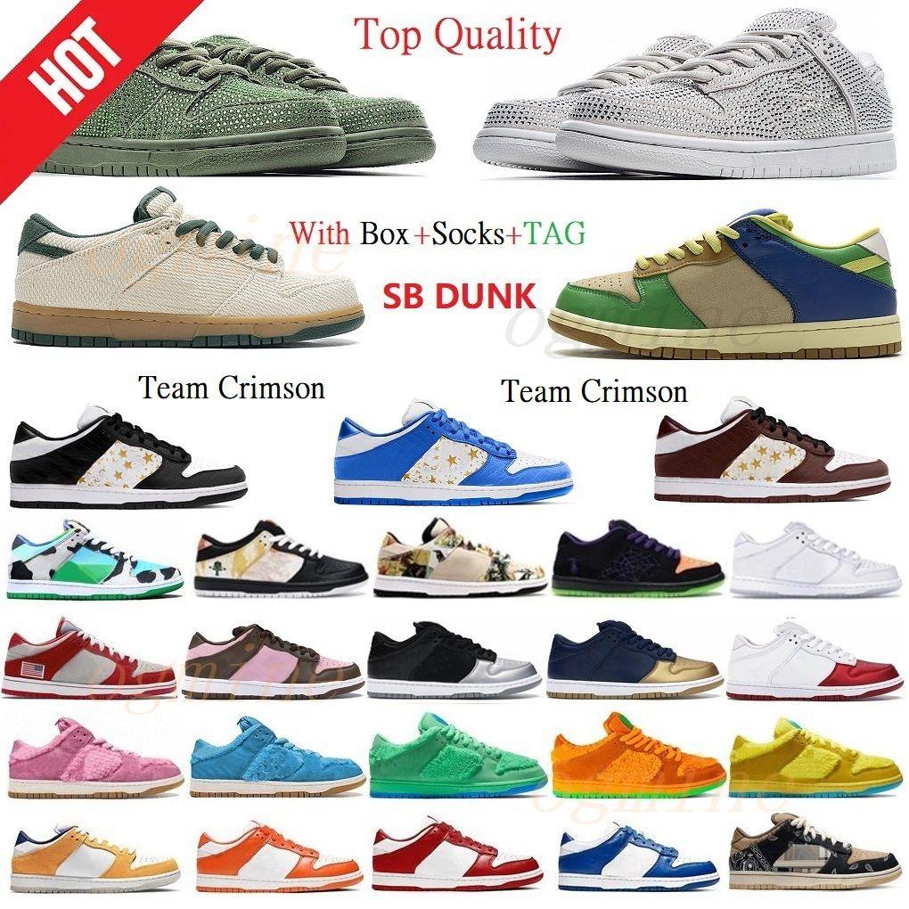 Top Quality SB Sombra Dunky Chunky Running Shoes Cactus Plant Travis Scotts Dunk Civilista Viotech Plum Pigeon Plataforma Férias Especial Baixo Homens Mulheres Sneakers