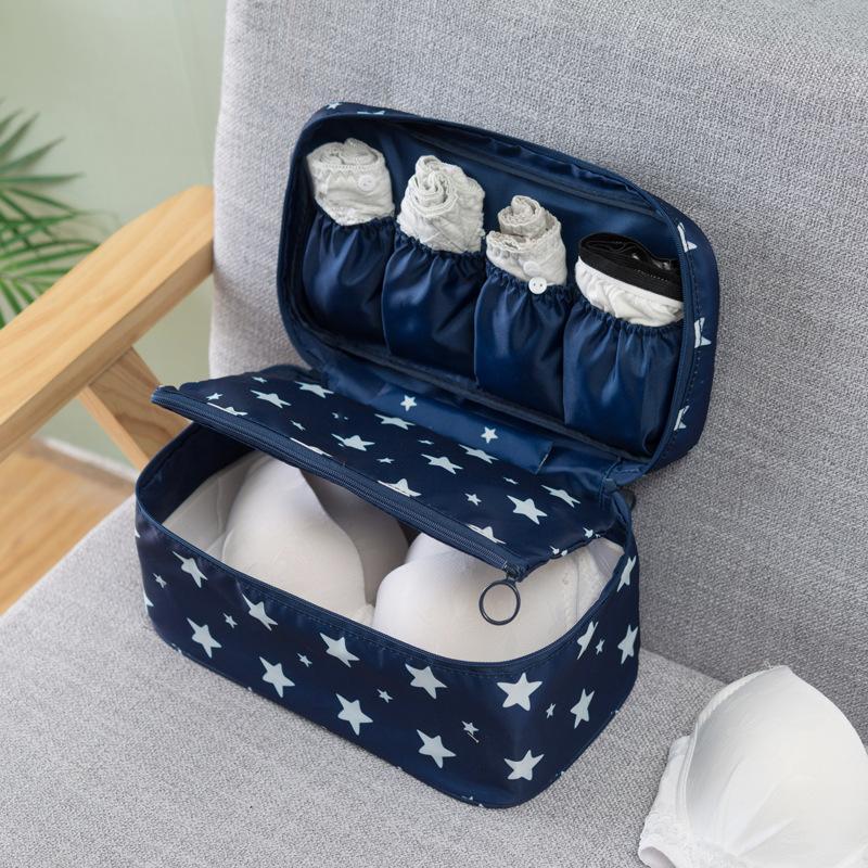 Reise Multifunktions-BH-Unterwäsche Verpackung Organizer Tasche Socken Kosmetik Aufbewahrungskoffer Große Kapazität Frauen Kleidung Taschen Taschen