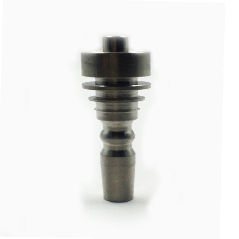 Clavo de tabaco de humo de 10 mm de titanio con la articulación masculina para la pipa de agua de Hookah Shisha