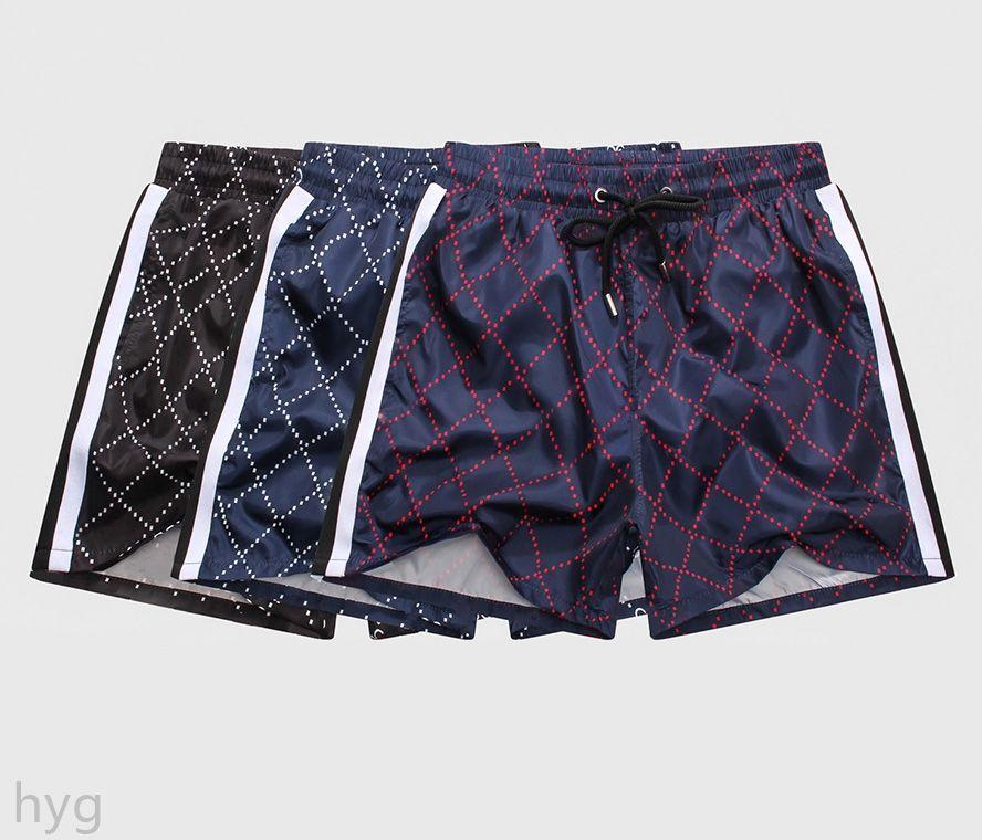 21ss оптом летняя мужская мода шорты дизайнерская доска короткая быстрая сушка плавать носить печатные доски пляжные брюки