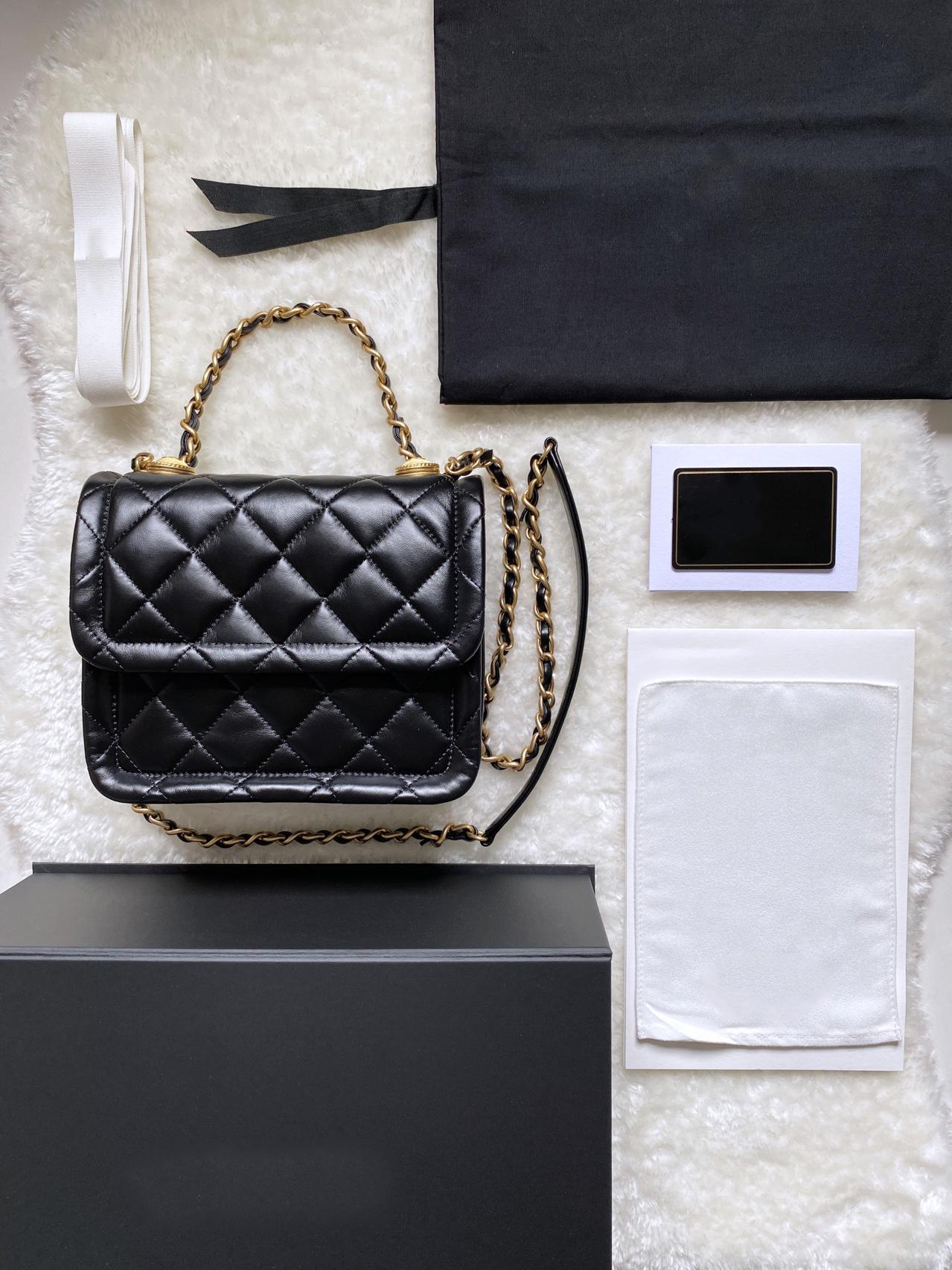 Crossbody Mini Handtasche Clutch Leder Frauen Handtaschen Klassische Luxusdesigns Tofu Paket Goldkette Schwarz Lammbörse Schaffell Brieftasche Großhandel