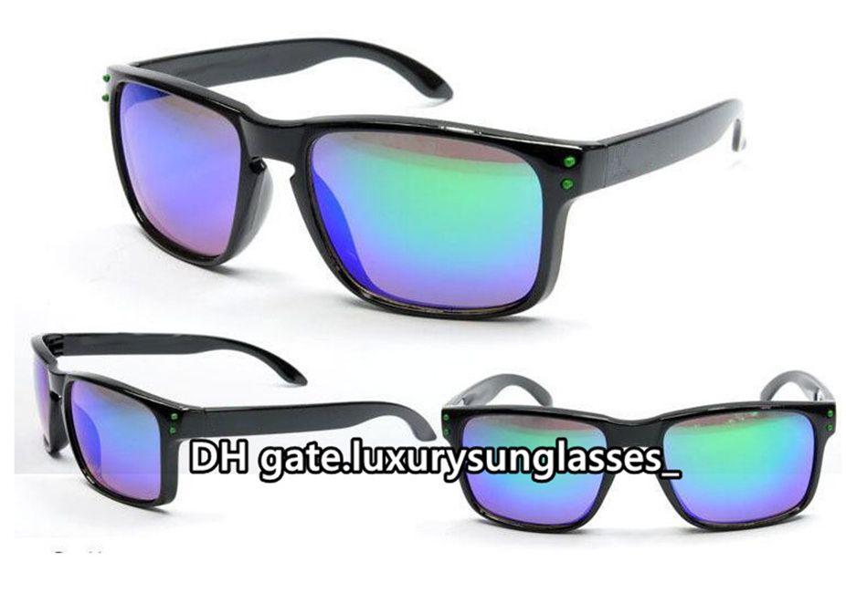 Mens Sonnenbrille für Frauen Spiegel Full Frame Holbrook Mode Klassische Retro Designer Luxus Pilot Fahren Eyewear Zubehör Sonnenglas des Lunettes de Soleil