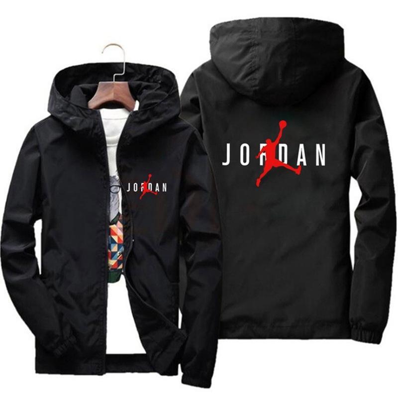 Куртки пружины рекустрируют легкий с капюшоном Rits водонепроницаемый Winddicht и теплые повседневные моды джентльмены Jas Outdoo