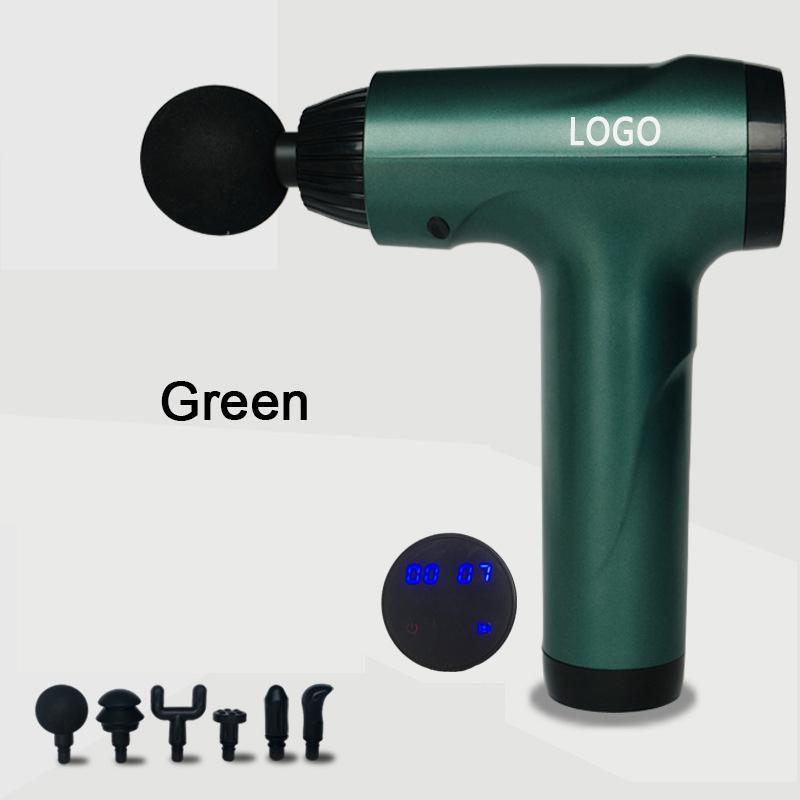 Massage Gun Home Vibration Hammer Muscle Relaxer Electric Masajeador Impact Foot Neck Face Fascia