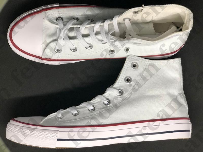 Klasik Erkekler Kadınlar Yüksek Düşük Moda Tuval Ayakkabı Rahat Rahat Koşu Düz Ayakkabı Unisex Loafer'lar Sneakers 15 Renk Boyutu 35-46