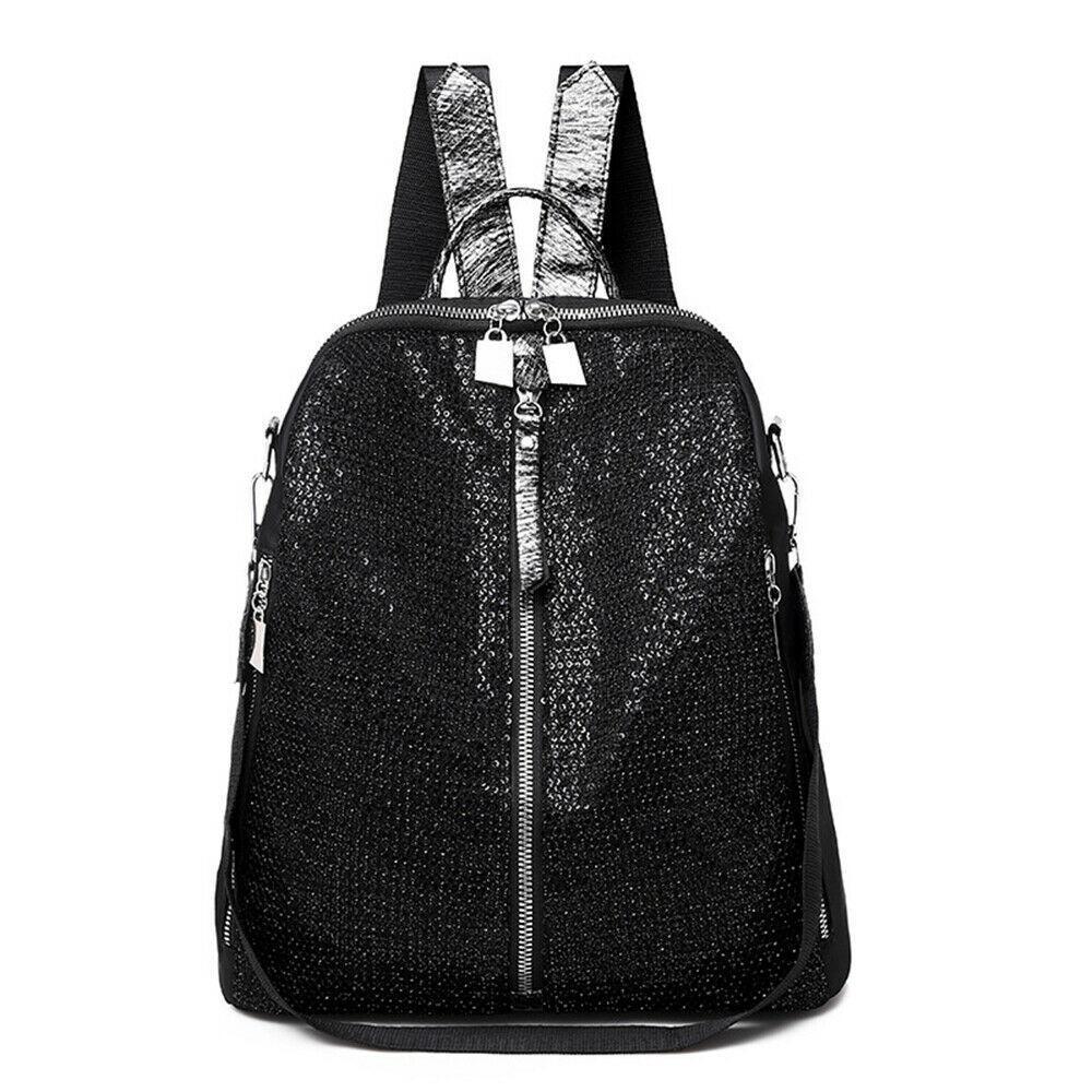 Рюкзак мода женская антиренажная тенденция блесток водонепроницаемый школьный досуг путешествие плечо
