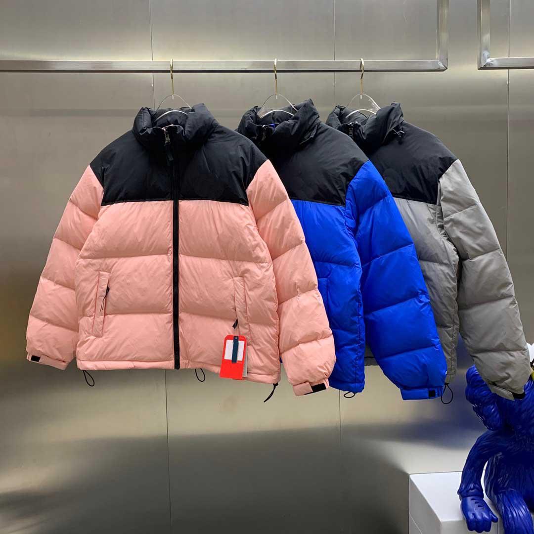 21FW Erkek Aşağı Ceket Kış Mektuplar Baskılı Ceketler Rahat Hiphop Bombacı Moda Bayan Unisex Parkas Toptan Boyutu S-4XL