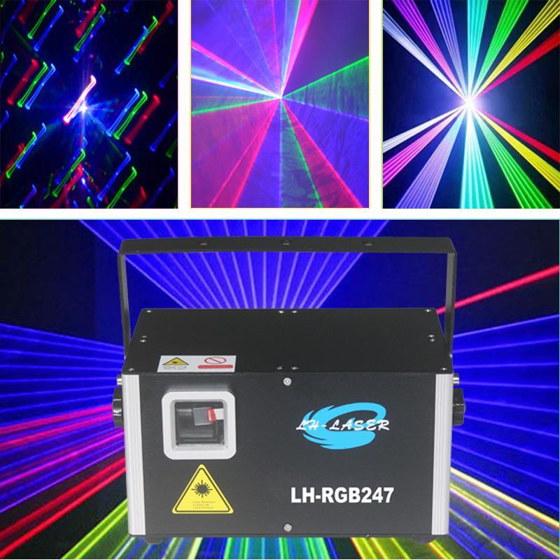 ILDA DMX512 2500MW RGB лазерное освещение анимации фейерверки лучевые эффекты для отдыха на открытом воздухе DJ рождество
