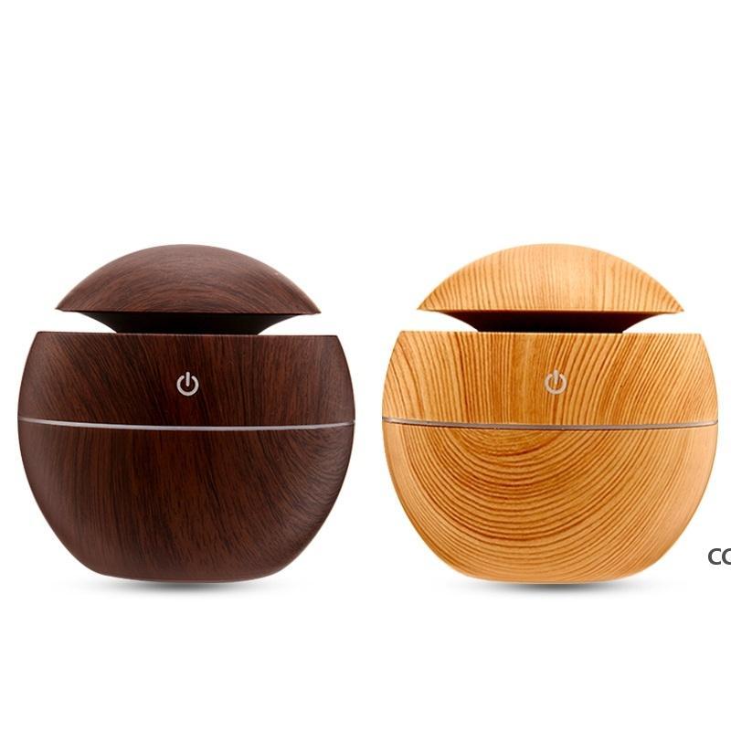 المرطب الخشب الحبوب الضروري النفط الناشر بالموجات فوق الصوتية تنقية الهواء الروائح الخيزران اللون المرطبات DHB9142