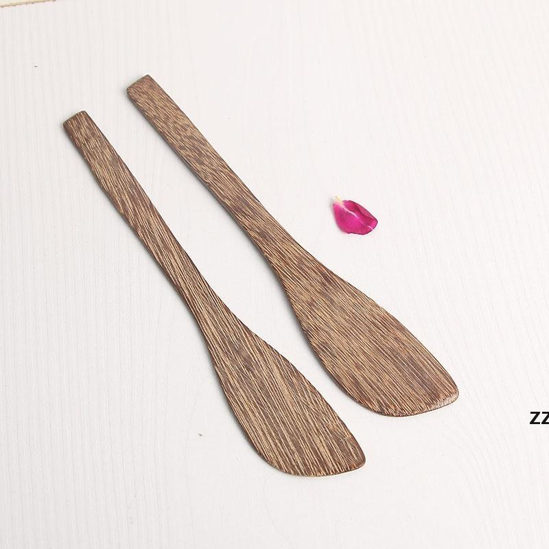 Couteau de masque en bois Wengé couteau de style japonais couteau de beurre marmelade Couteau de boulette Couteaux de crème en gros HWF7639