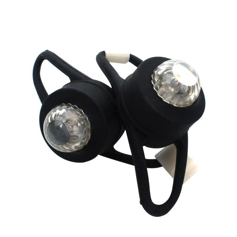 KONGYIDE Vélo Light Silicone Porte-vélo arrière arrière arrière Cyclisme à la queue de cyclisme LED pour une lumières d'accessoires