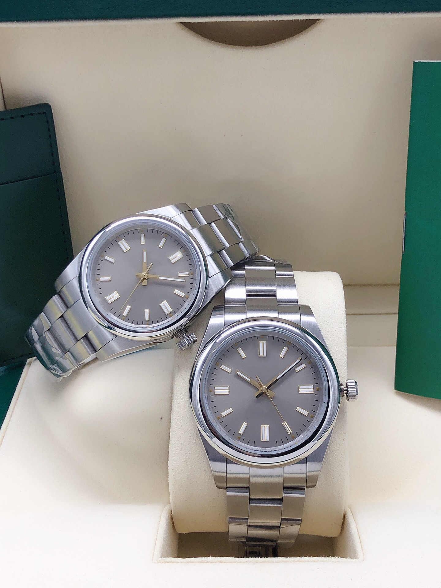Relógios masculinos 2813 41mm automático relógios de pulso mecânicos Datejust Black Cinza Dial Mens Relógio Completo de Aço Inoxidável Correias Homens Vestido Acessório Masculino relógio de pulso