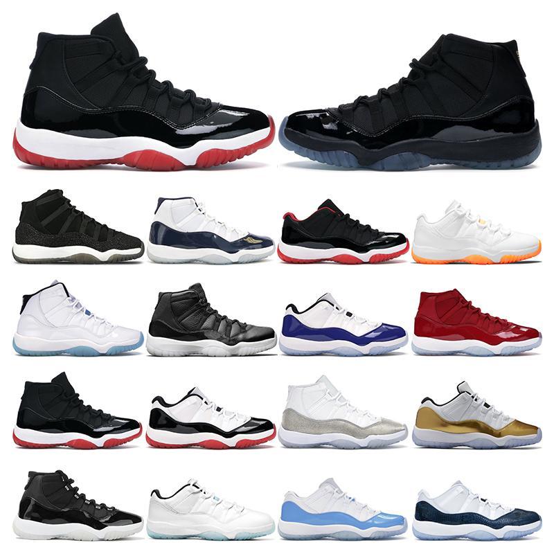 mens basketball shoes 11 air jordan 11s citrus legend gamma bule 25 anniversary bred high concord 45 womens men sport sneaker trainers